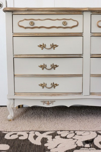 French Country Dresser Makeover