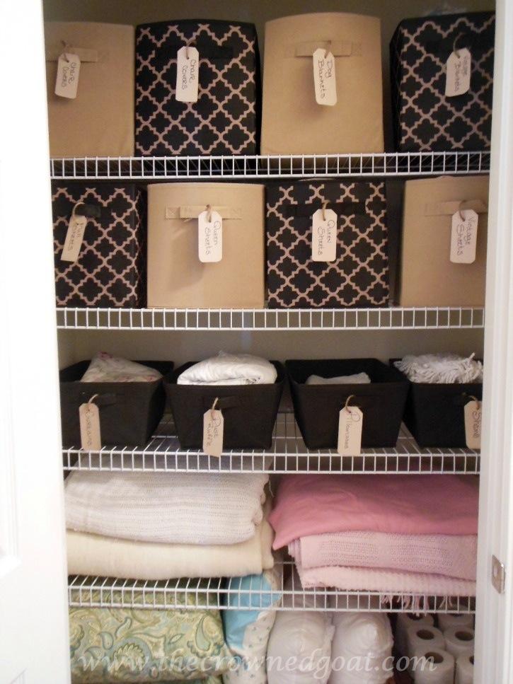 Budget Friendly Linen Closet Ideas - 102214-12