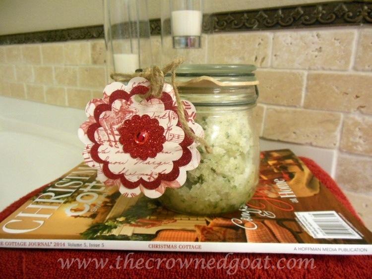 111714-8 Rosemary and Lemon Balm Sugar Srub