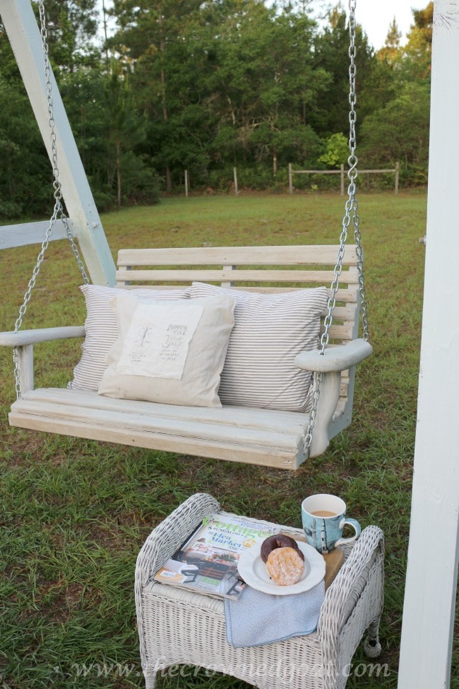 Building a Porch Swing Frame - The Crowned Goat 052015-3