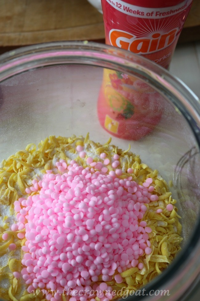Homemade HE Laundry Soap Update and a New Recipe - The Crowned Goat - 051215-3