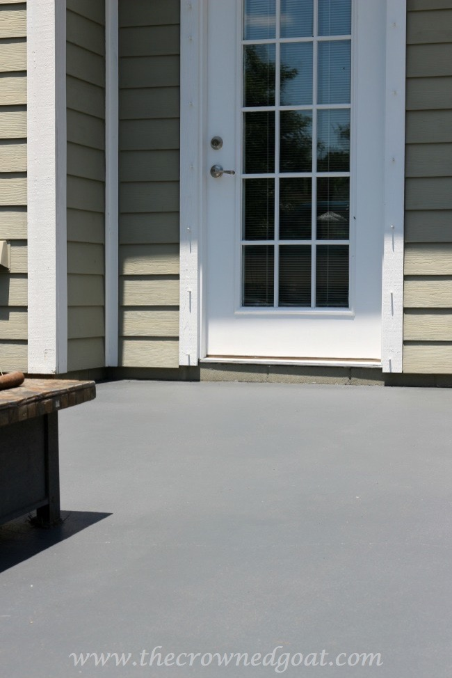 Tips for Painting a Textured Concrete Patio