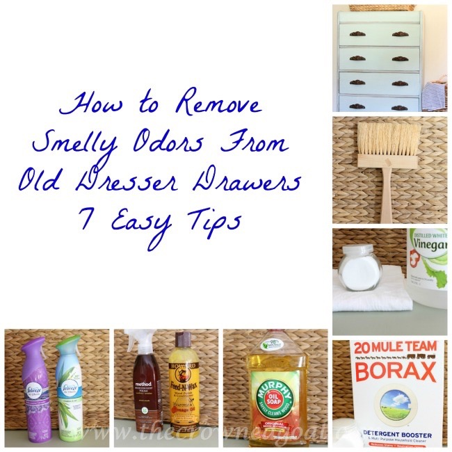 How to Remove Smelly Odors From Old Dresser Drawers