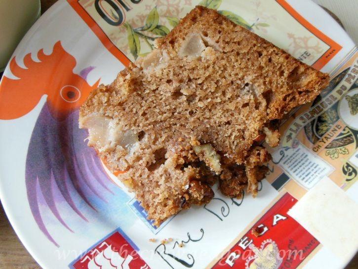 How to Make Pear Streusel Coffee Cake - 090415-11