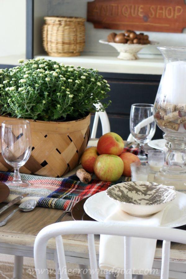 Fall Inspired Dining Room