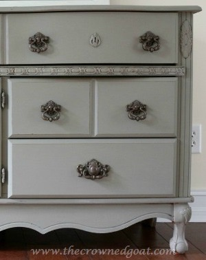 French Linen Painted Buffet