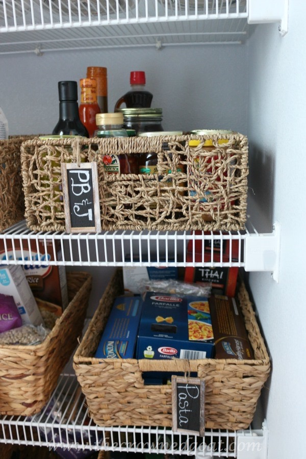 Pantry Makeover Reveal