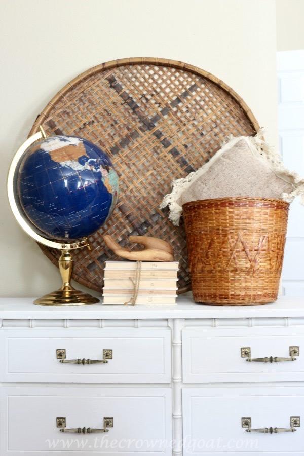 021616-8 Annie Sloan Chalk Painted Dresser in Pure White