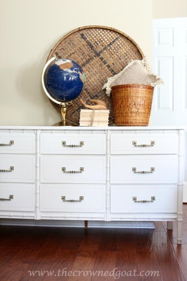 021616-9 Annie Sloan Chalk Painted Dresser in Pure White