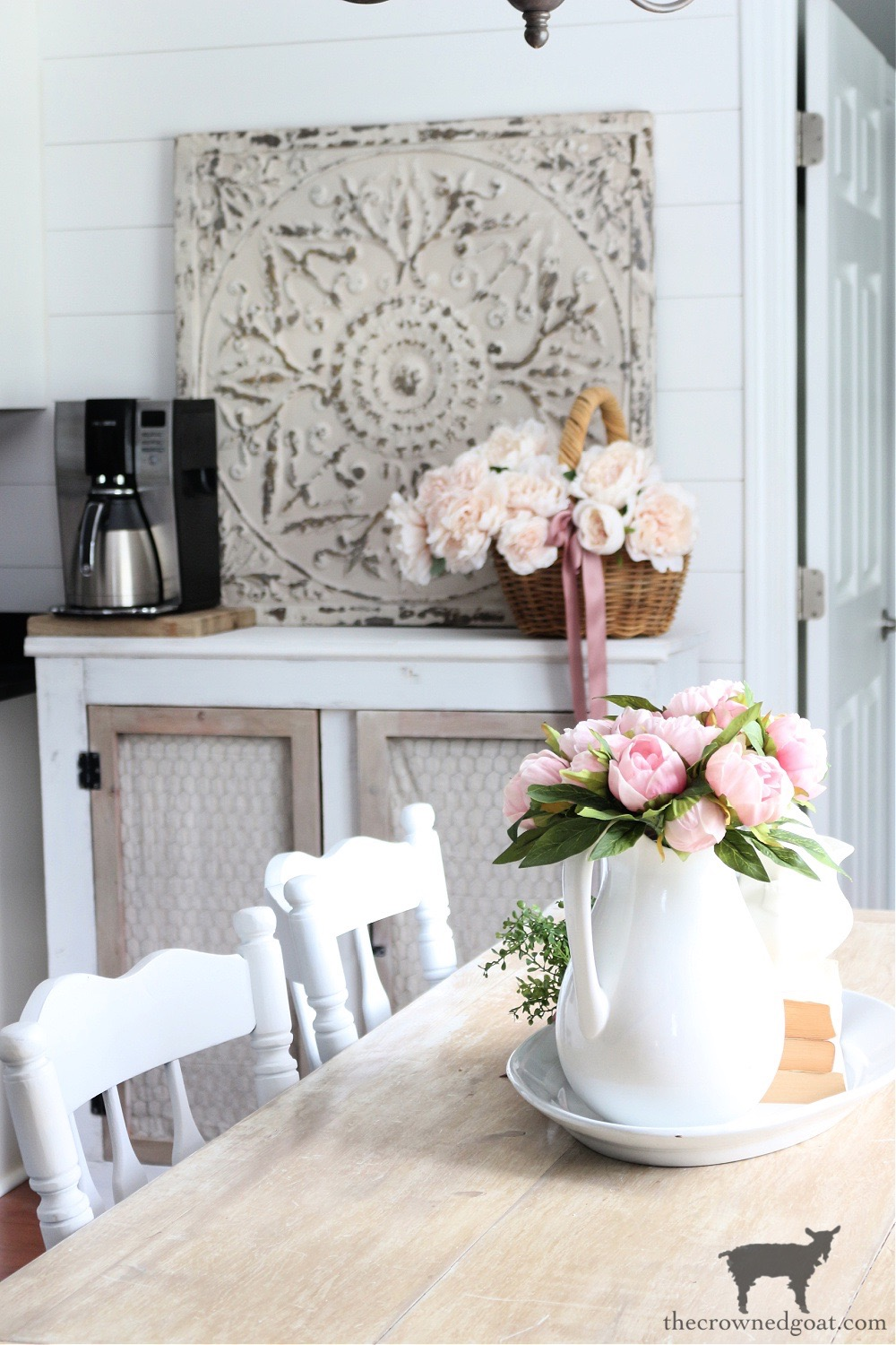 French Country Breakfast Nook and Coffee Bar-The Crowned Goat