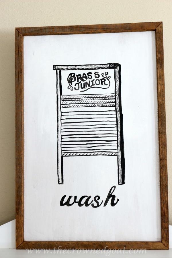 How to Create Laundry Room Art