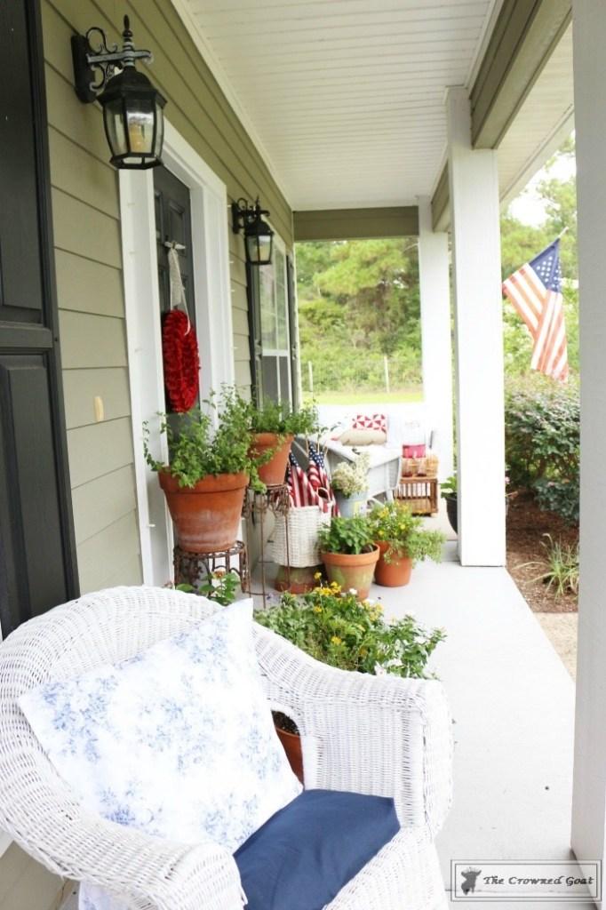 Patriotic Summer Porch - 18