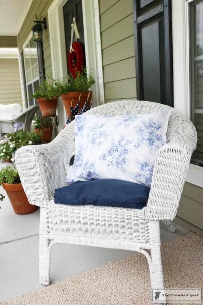 Patriotic Summer Porch - 8