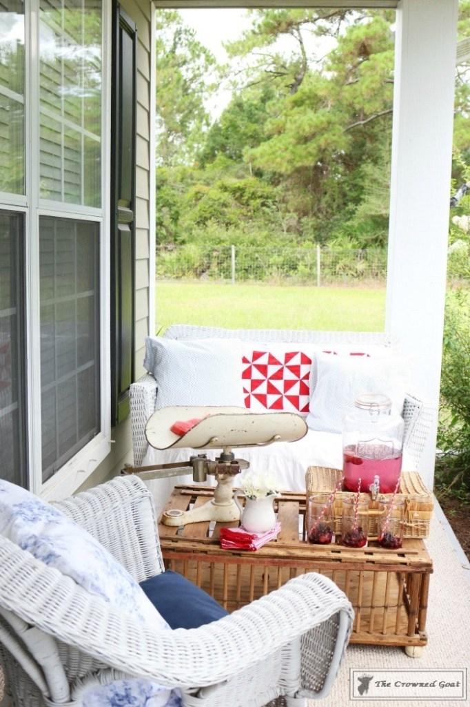 Patriotic Summer Porch - 9
