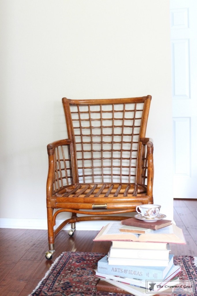 Revitalizing a Rattan Chair with DIY Furniture Polish-12