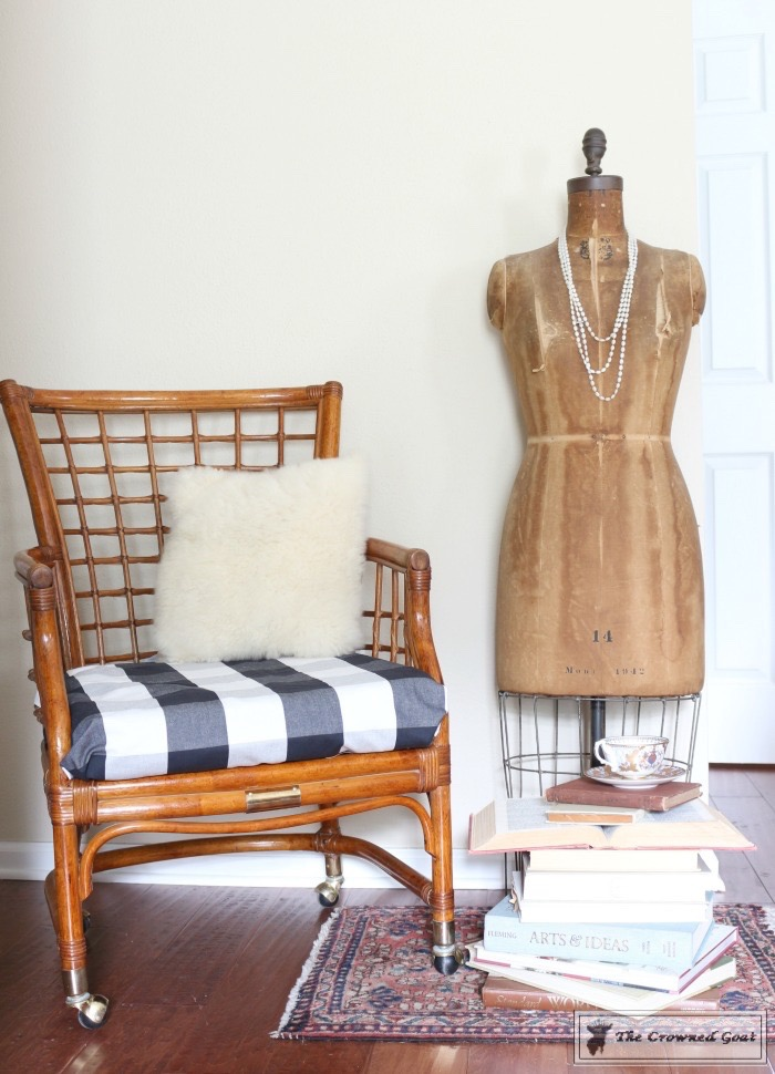 Revitalizing a Rattan Chair with DIY Furniture Polish-13