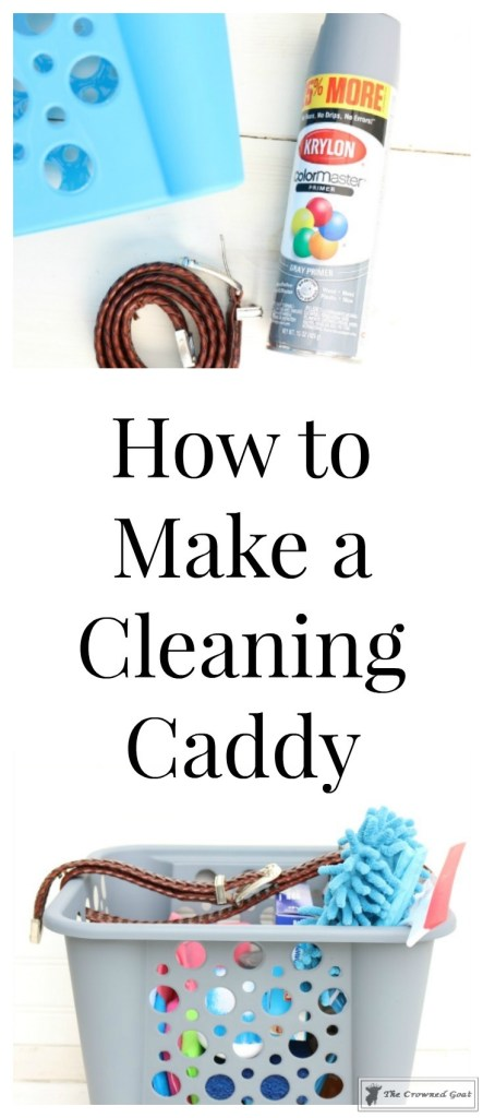 DIY Cleaning Caddy-The Crowned Goat-1