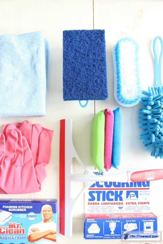 DIY Cleaning Caddy-The Crowned Goat-12