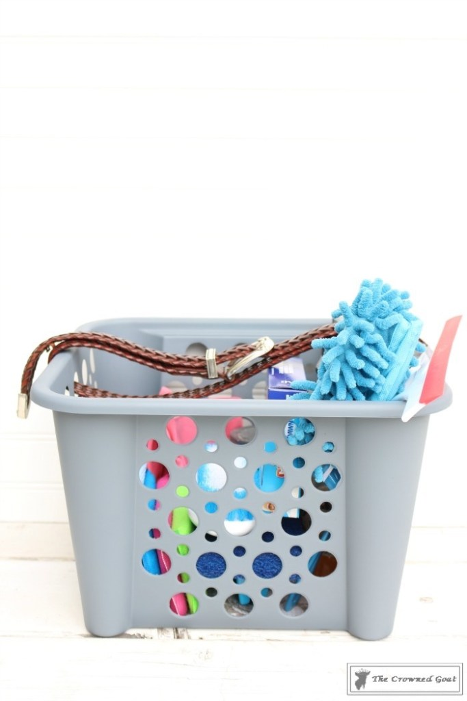 DIY Cleaning Caddy-The Crowned Goat-16
