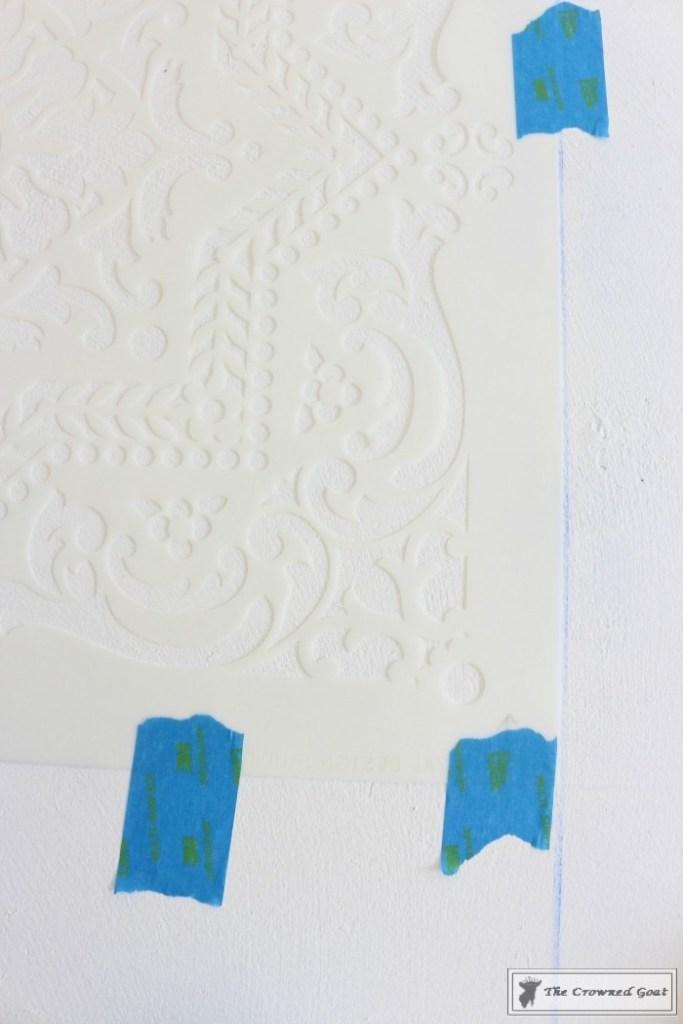 Easily Stencil a Concrete Floor-7