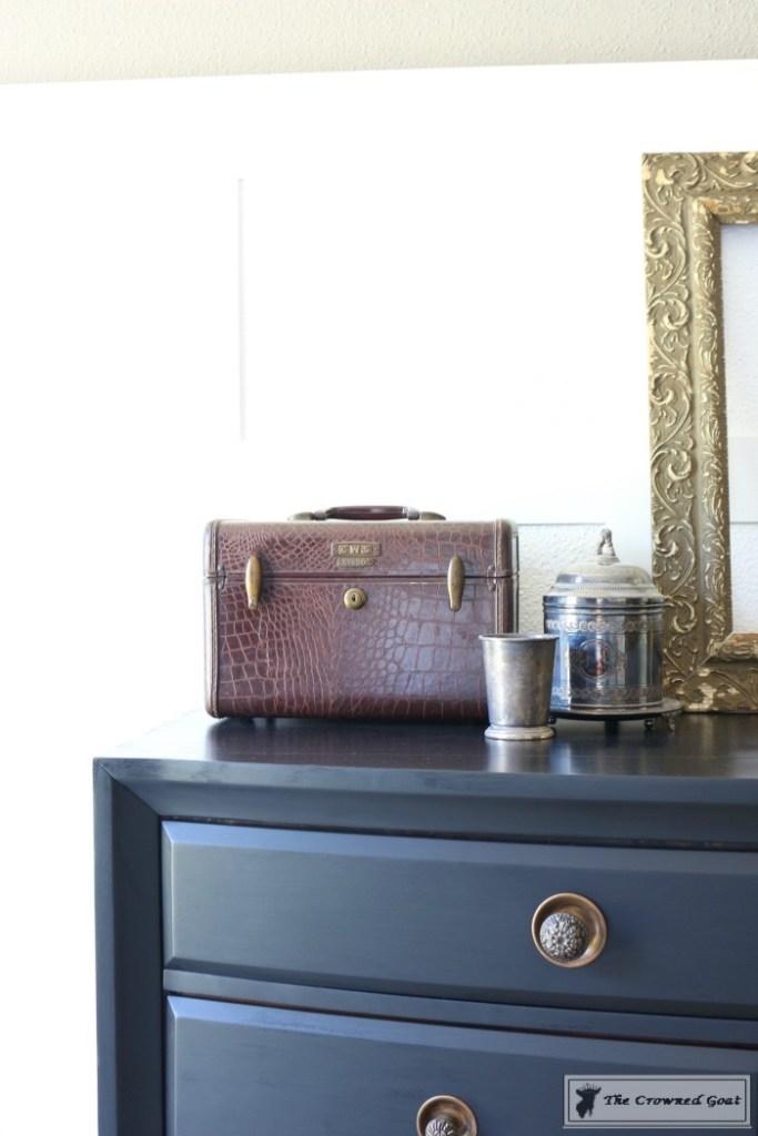 Lamp Black Painted Dresser-12
