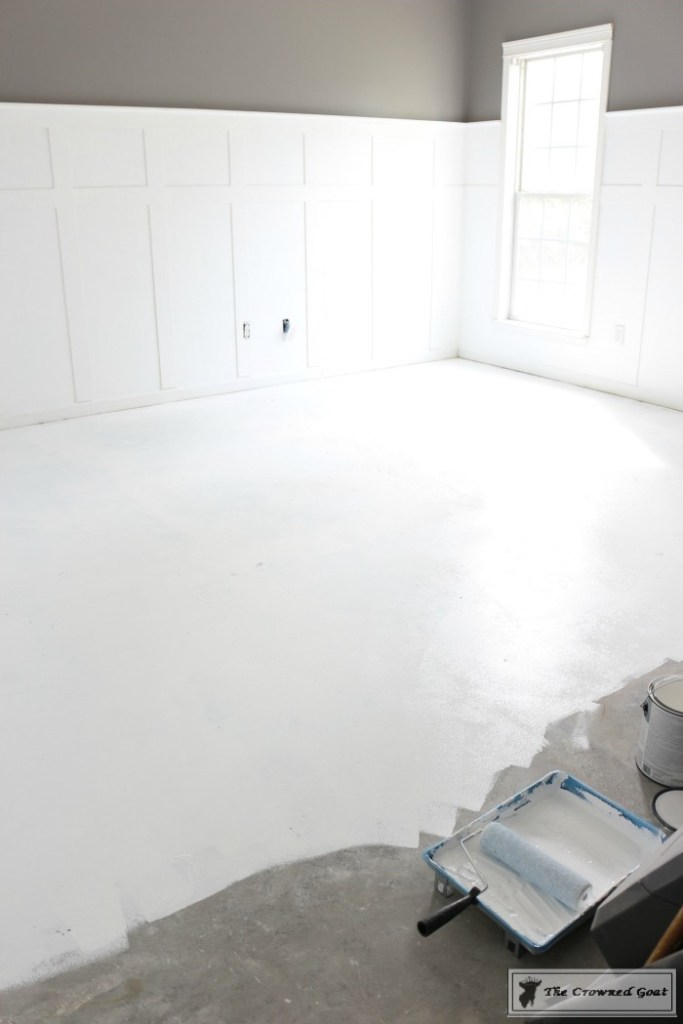 Prepping the Concrete Floors to Paint-13