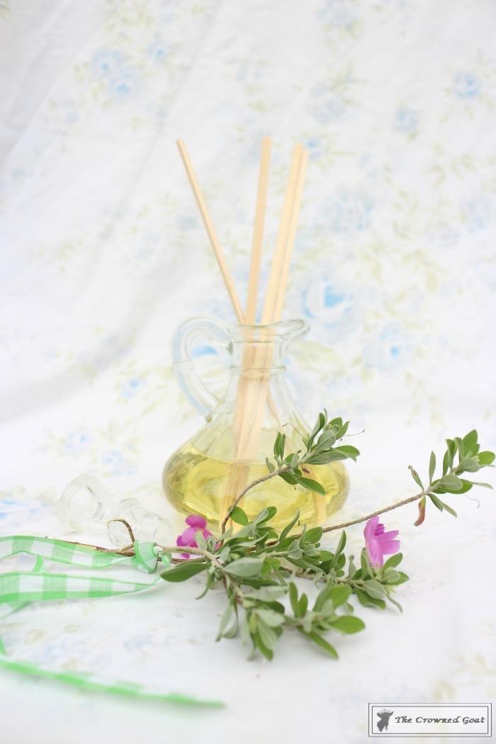 How to Make a Lemongrass Room Diffuser