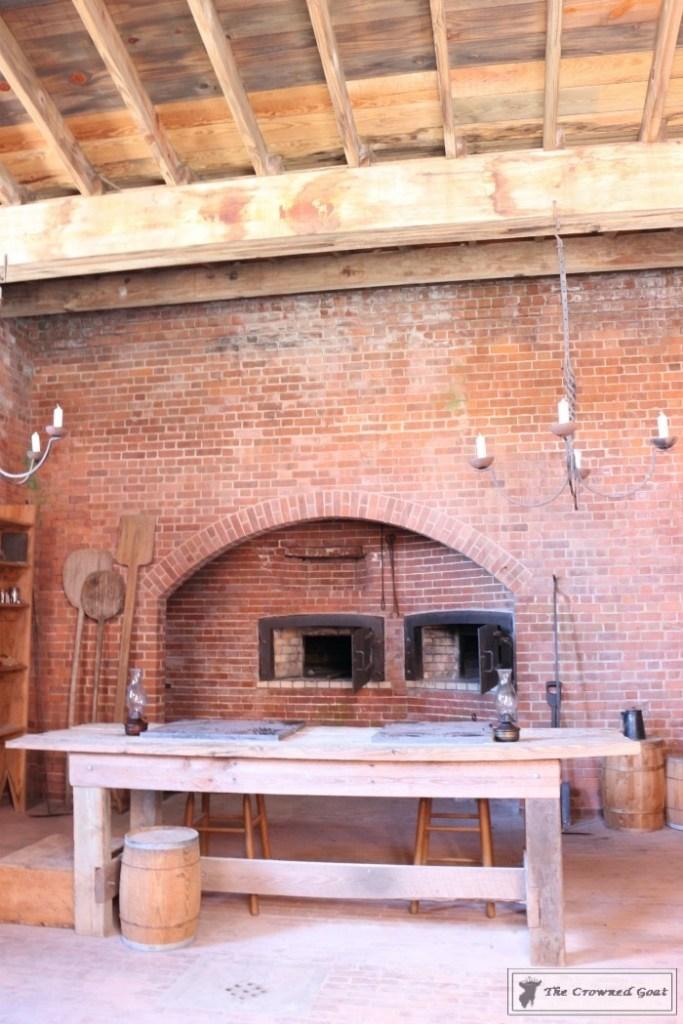 Fort Clinch Kitchen