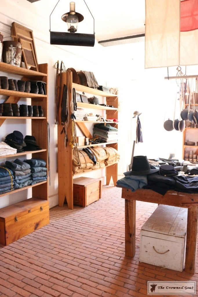 Store at Fort Clinch