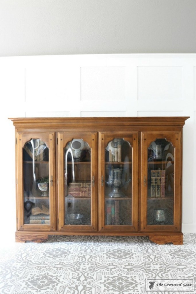 Library Hutch Makeover-3