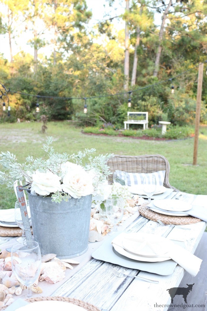 Ease Into Summer with a Coastal Tablescape - The Crowned Goat