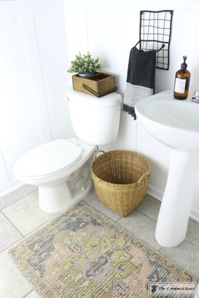 Adding Board and Batten to the Half Bathroom-14