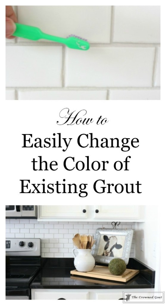 Easily Change the Color of Existing Grout-11