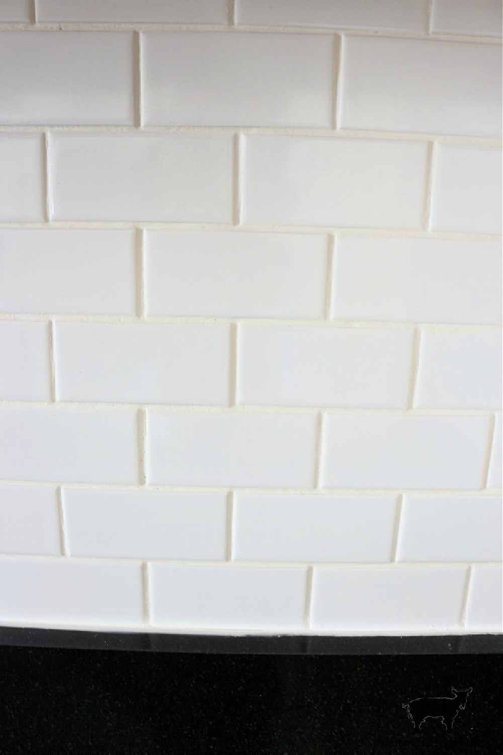 Easily Change the Color of Existing Grout-Alabaster Before-The Crowned Goat