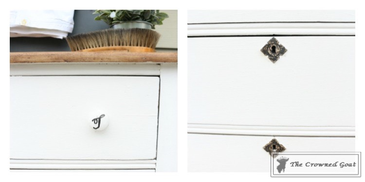 How to Create a Laundry Room Folding Station from a Dresser-The Crowned Goat-8