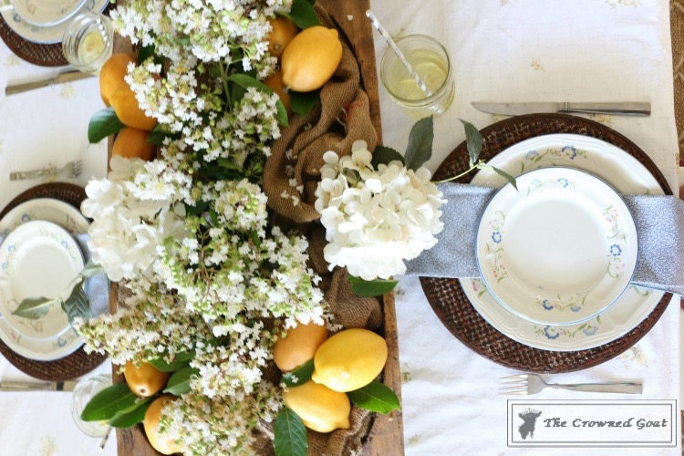 How to Create a Summer Tablescape-The Crowned Goat-11