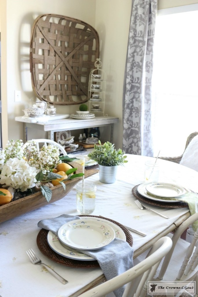 How to Create a Summer Tablescape-The Crowned Goat-14