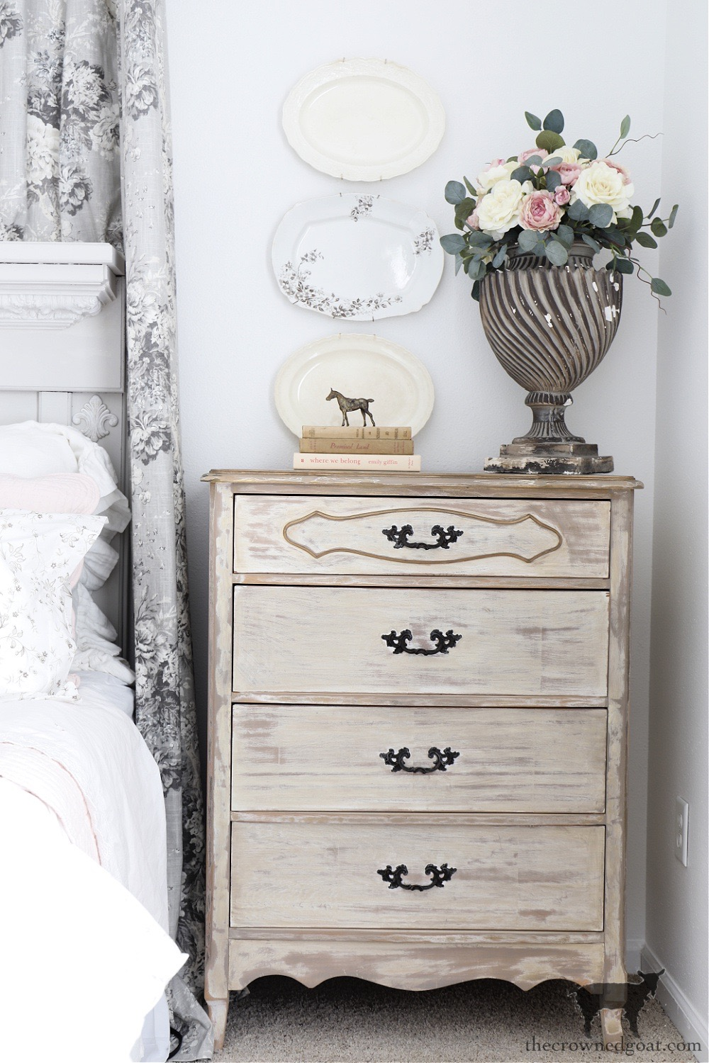 Cottage Style Dresser and Home Tour-The Crowned Goat