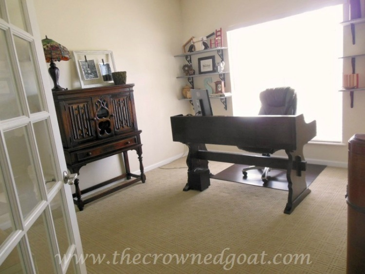 Home Office Makeover Reveal-The Crowned Goat-1