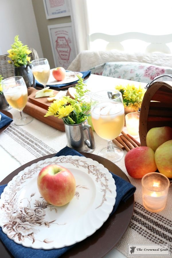 How to Decorate for Fall with Apples-10