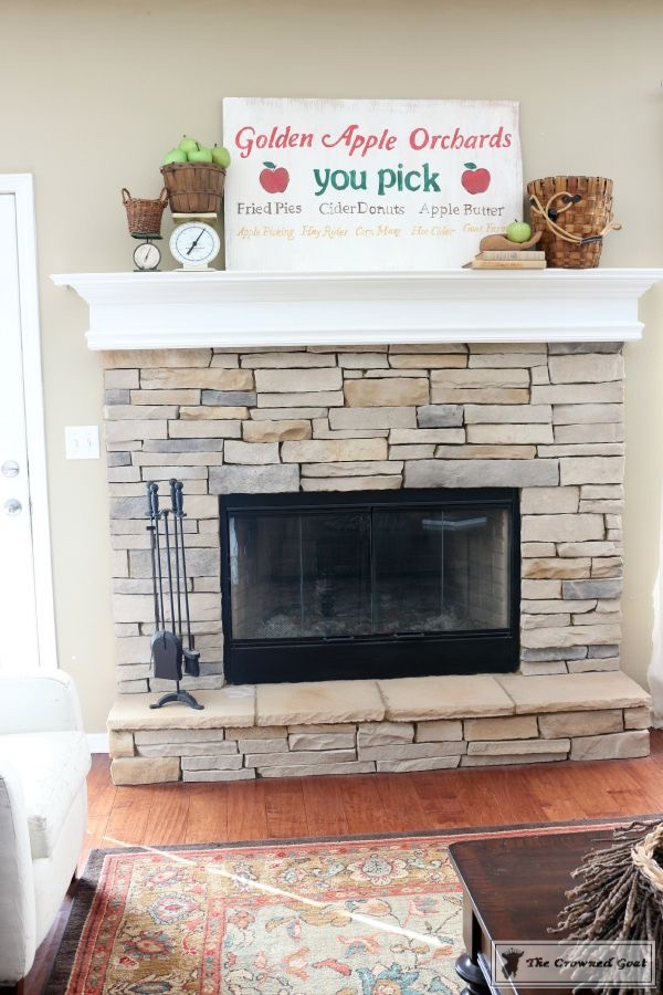 How to Decorate for Fall with Apples-9