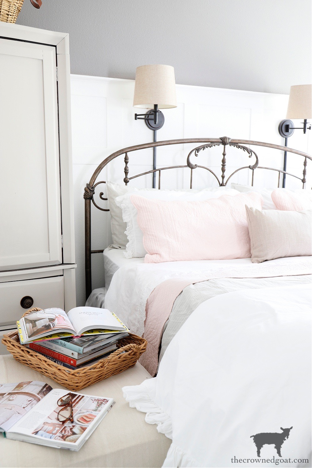 Journeys End Home Tour-Master Bedroom-The Crowned Goat