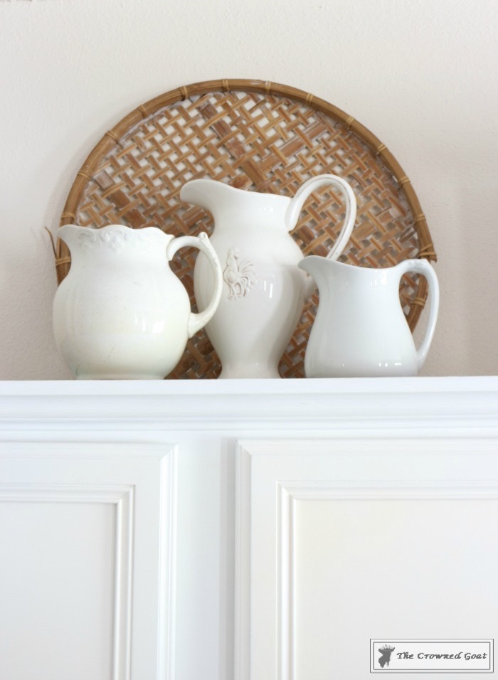 Decorating Kitchen Cabinets-The Crowned Goat-9