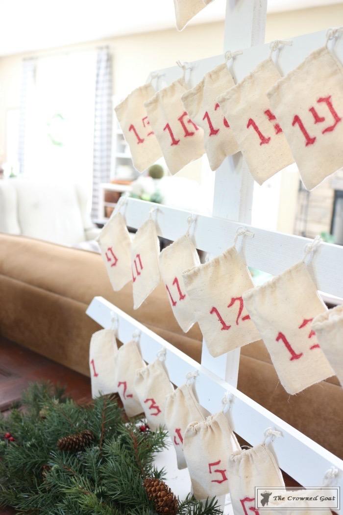 Farmhouse Inspired Advent Calendar