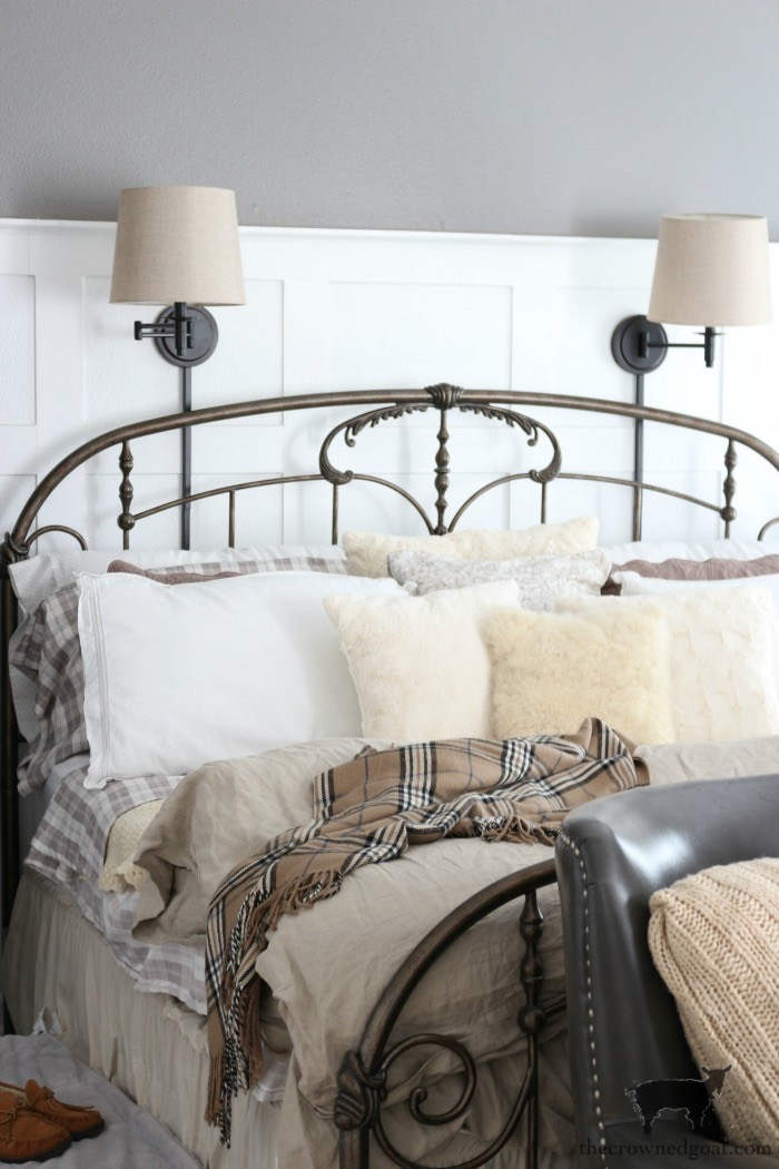Winter Bedroom Inspiration - The Crowned Goat