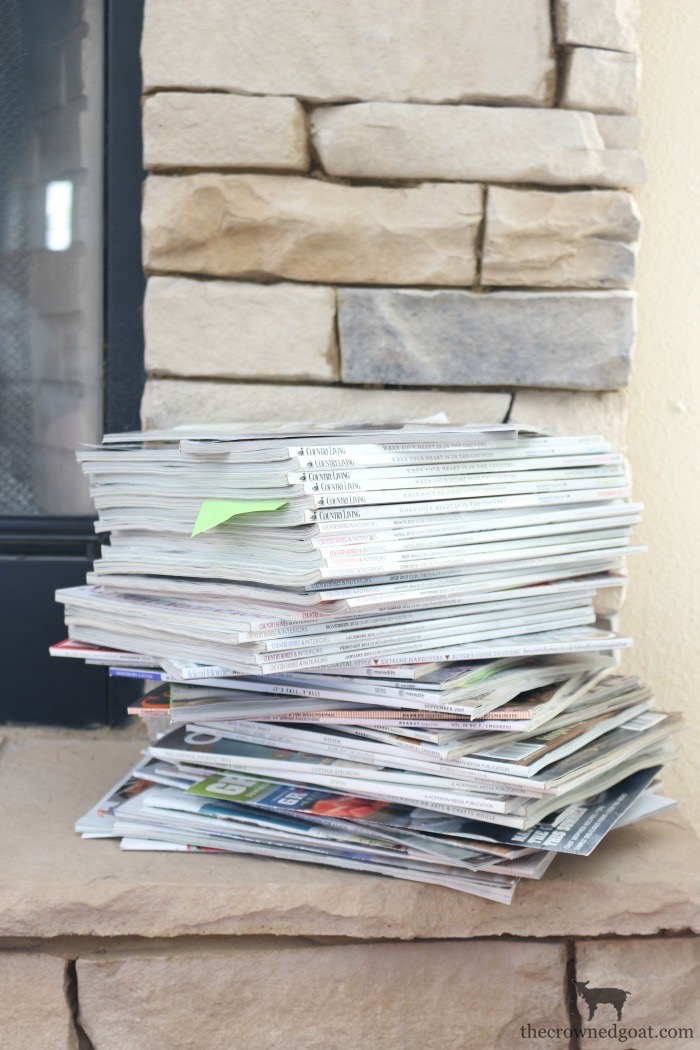 The Best Way to Organize Magazines