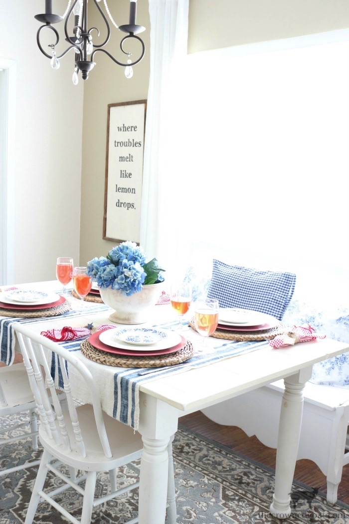 Tips & Tricks for Patriotic Tablescapes