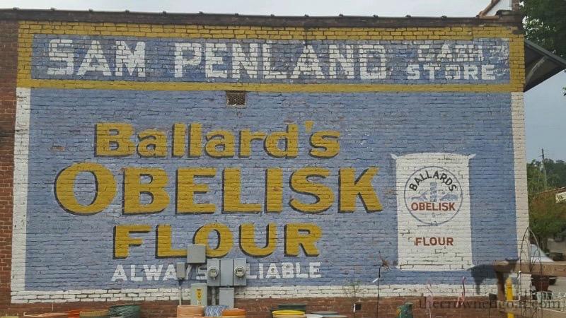 Sam Penland Cash Store Sign