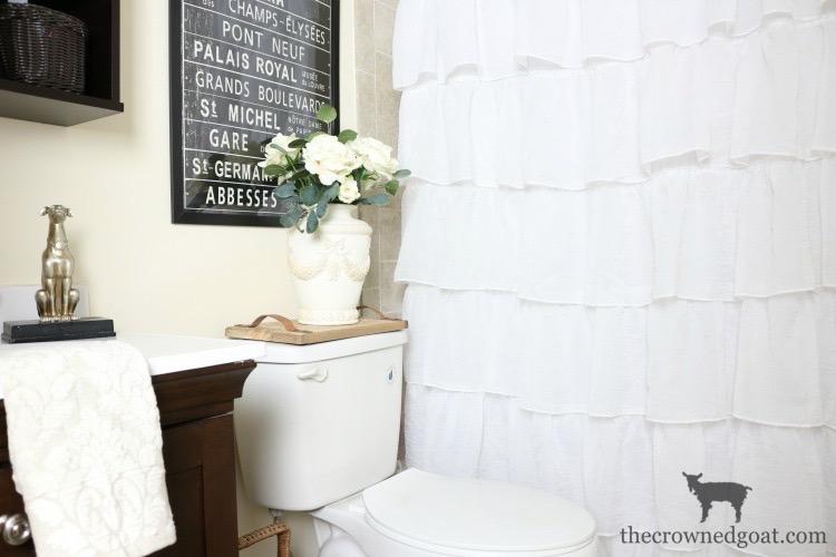Tiny Guest Bathroom