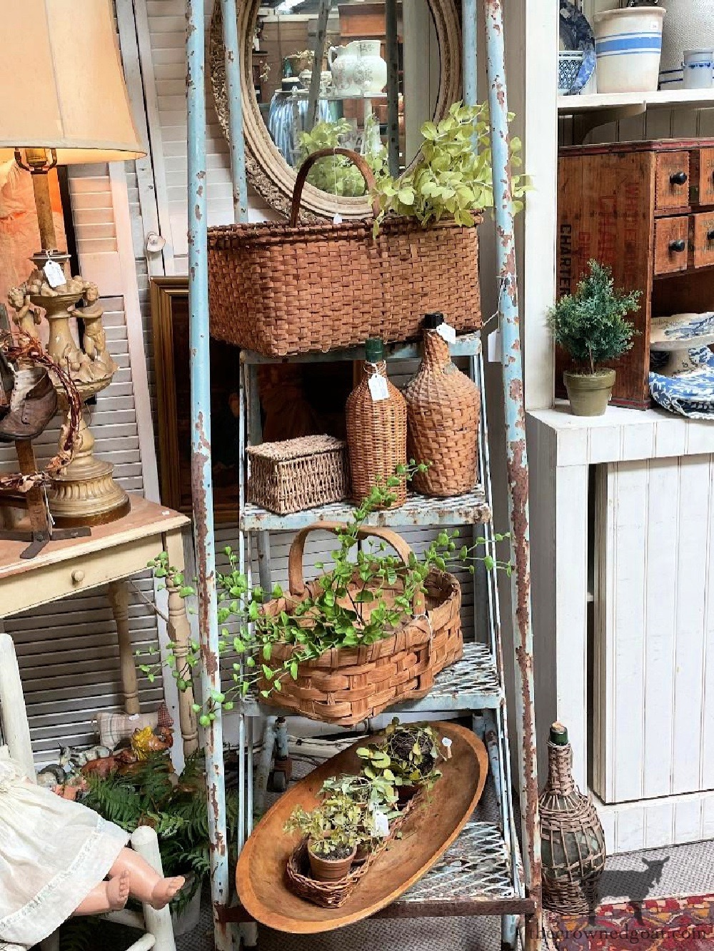 Summer Yard Sales and Latest Finds From Renningers-The Crowned Goat